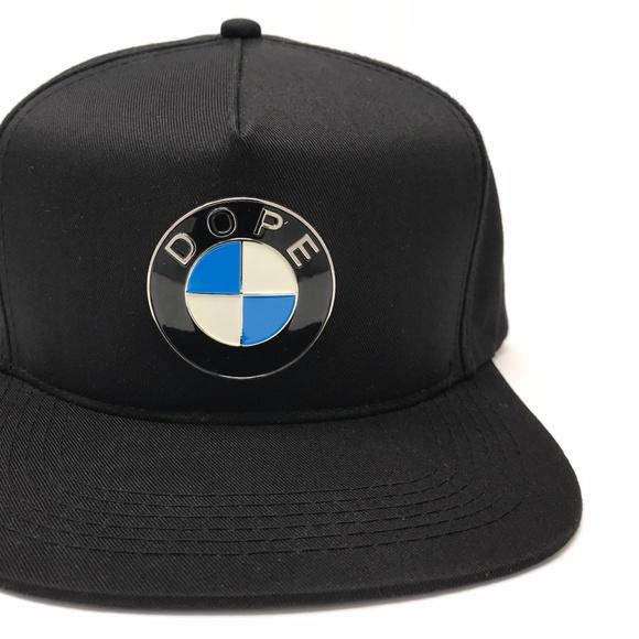 f24d8163ab8e6 DOPE BMW Logo Continental Snapback Hat